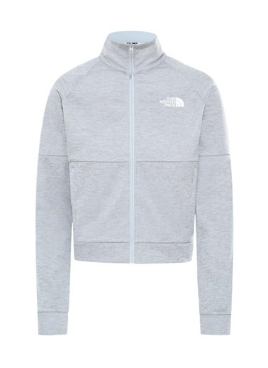 The North Face Active Trail Tam Fermuarlıkadın Sweatshirt Gri Gri